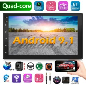 Android 9.1 Double din head unit reviw