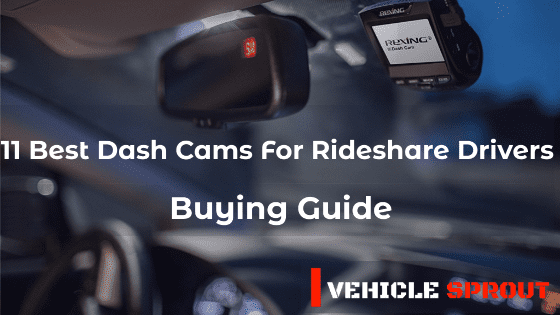 Best dash cams for rideshare drivers