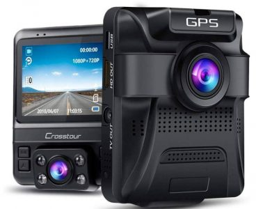 Crosstour dual dash cam review
